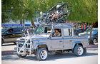 Land Rover Defender, Dreh