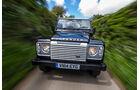 Land Rover Defender, England, Abschiedfahrt, Impression