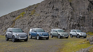 Land Rover Defender Family 2021