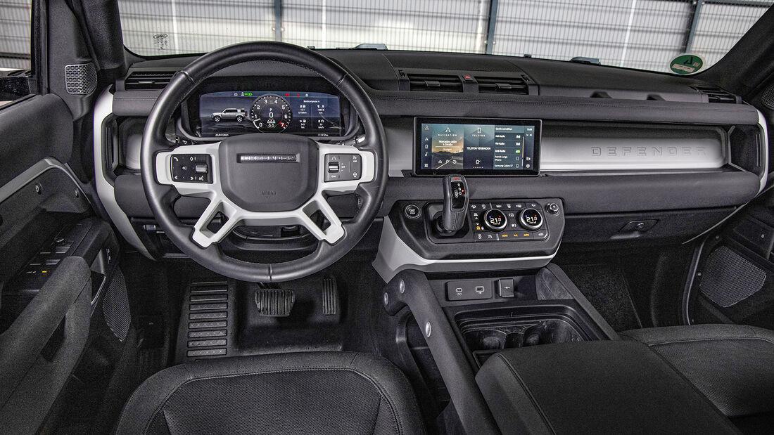 Land Rover Defender, Interieur