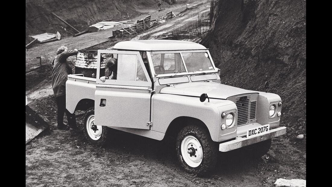 Land Rover Defender Pickup Series III