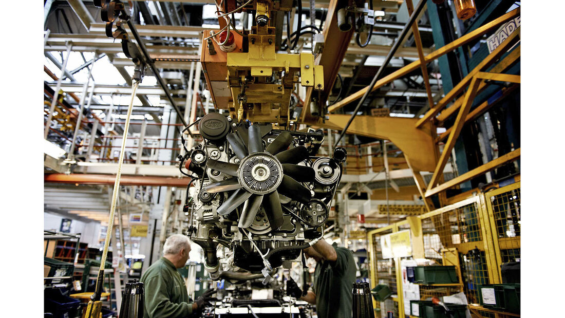 Land Rover Defender Produktion Sollihull 4wf
