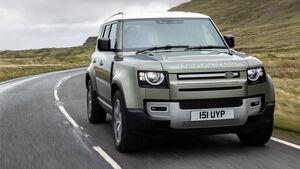Land Rover Defender Prototyp Brennstoffzelle