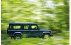 Land Rover Defender, Seite