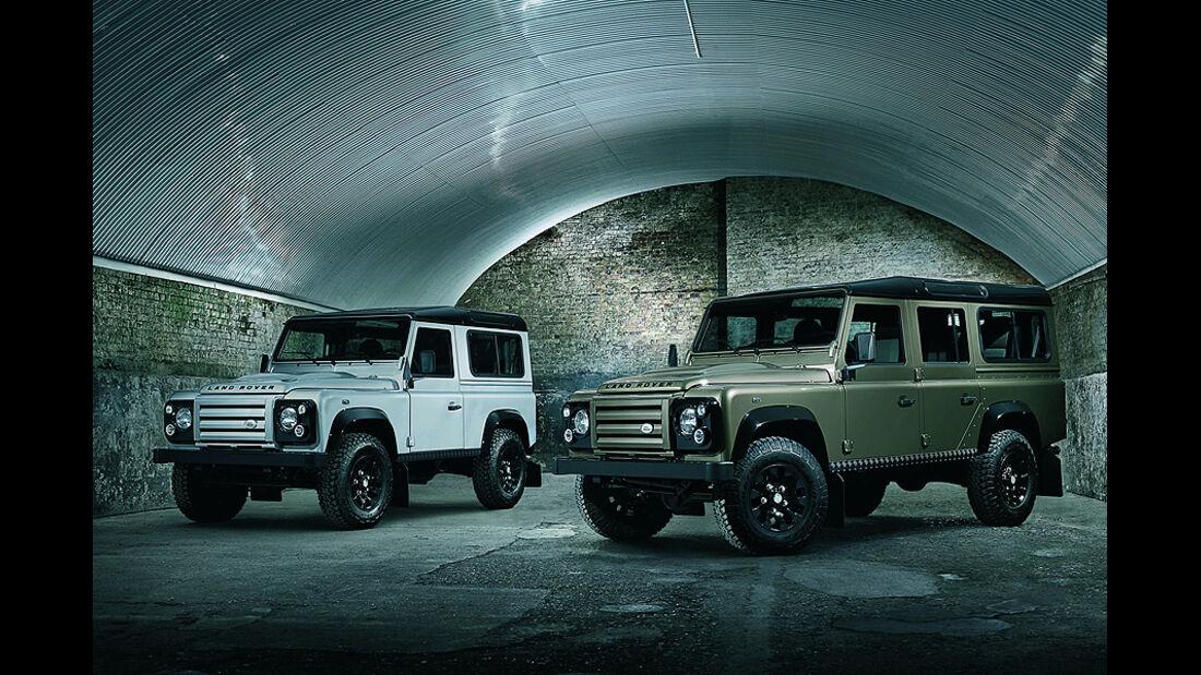 Land Rover Defender Sondermodell Rough,