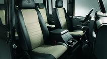 Land Rover Defender Sondermodell Rough, Innenraum