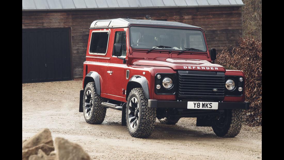 Land Rover Defender Works V8 – 70th Edition 2018