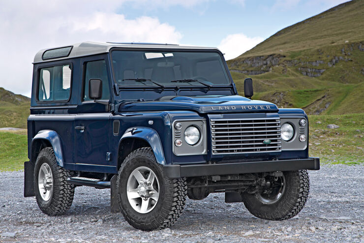 land rover defender 5 generation auto motor und sport. Black Bedroom Furniture Sets. Home Design Ideas