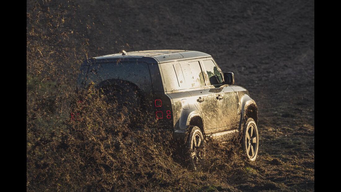 Land Rover Defender in James Bond Keine Zeit zu sterben