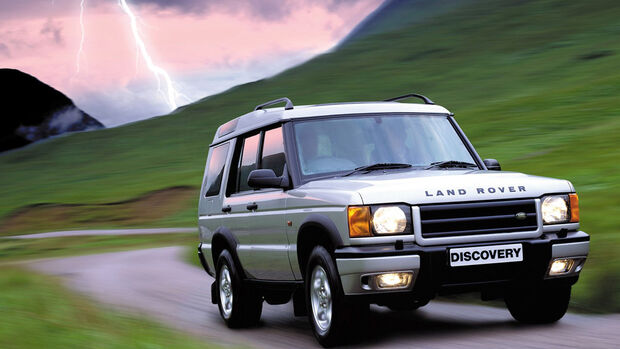 Land Rover Discovery, 1998, SUV