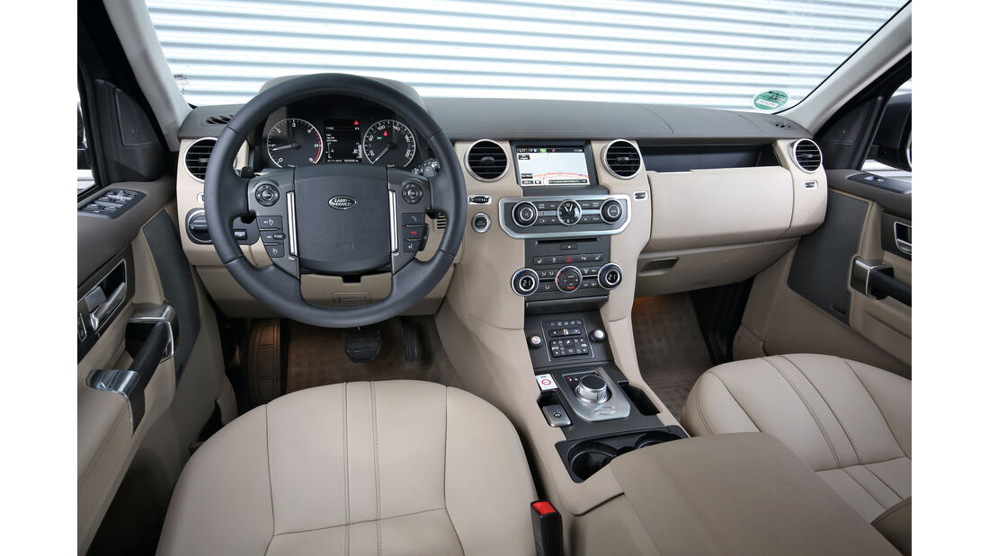Land Rover Discovery 3.0 TDV6, Cockpit