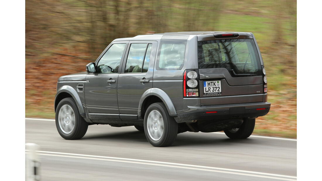 Land Rover Discovery 3.0 TDV6, Heckansicht