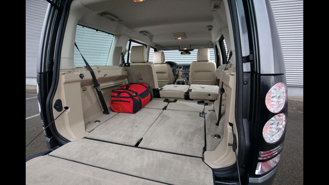Land Rover Discovery 3.0 TDV6, Ladefläche, Kofferraum
