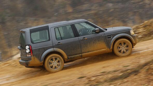 Land Rover Discovery 3.0 TDV6, Seitenansicht