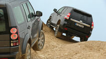 Land Rover Discovery 3.0 TDV6, Toyota Land Cruiser 2.8 D-4D
