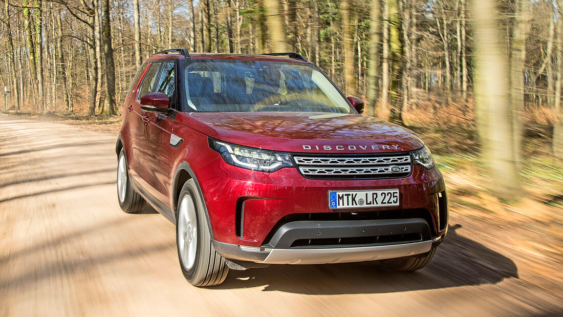 Land Rover Discovery, Exterieur