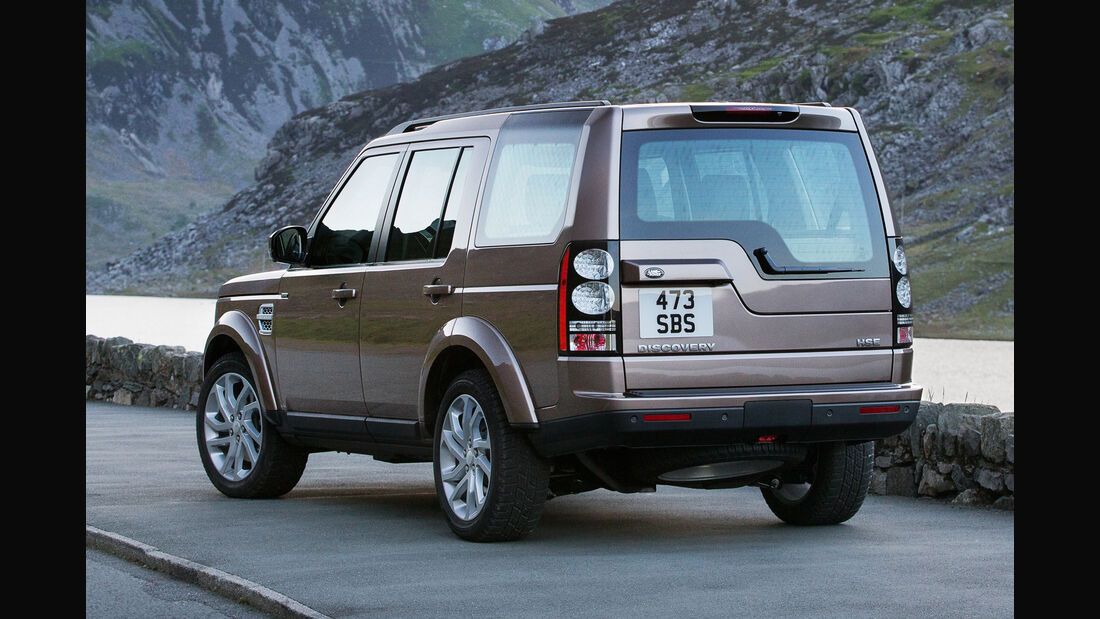 Land Rover Discovery, Heckansicht