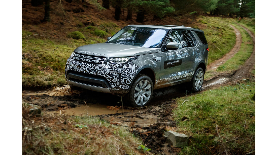 Land Rover Discovery Prototype Si6