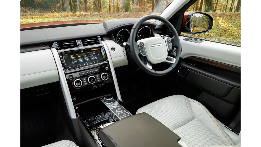 Land Rover Discovery Prototype Td6