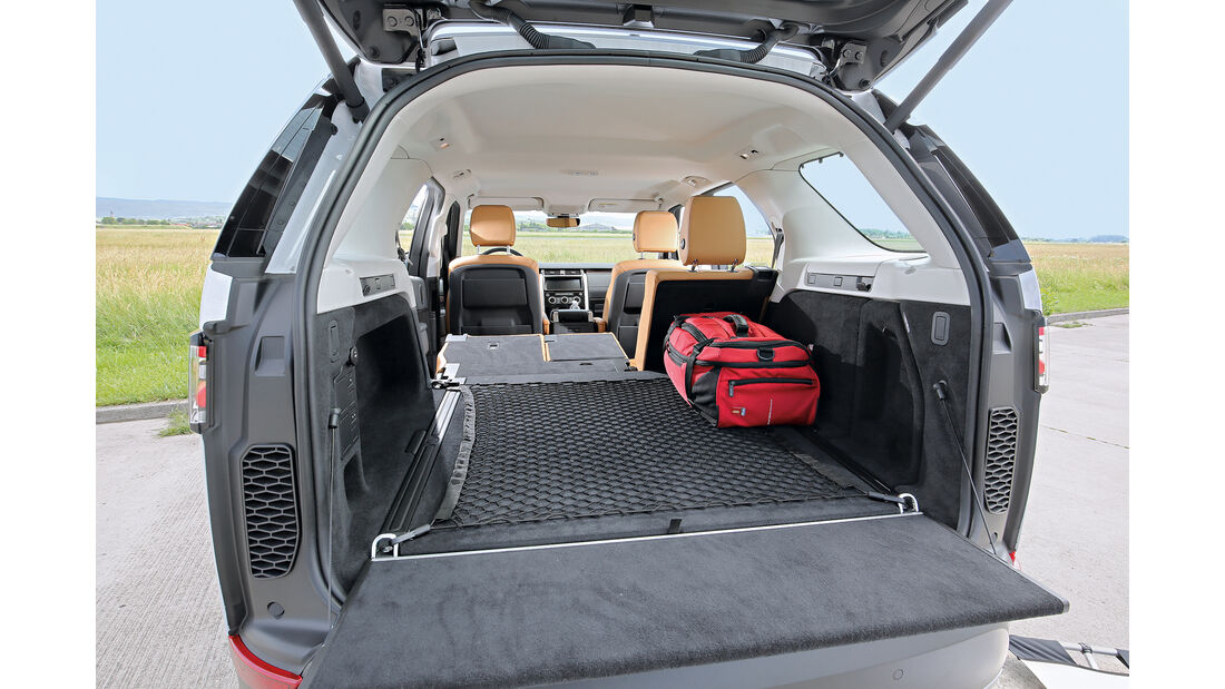 Land Rover Discovery SD4 HSE Kofferraum