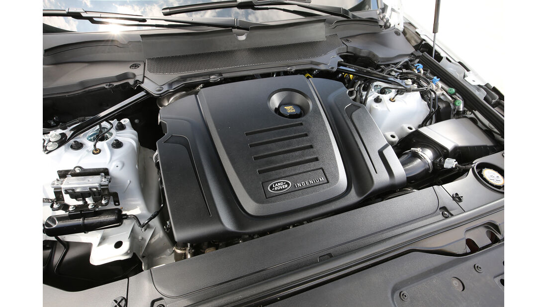 Land Rover Discovery SD4 HSE Motor