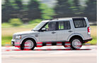 Land Rover Discovery SDV 6, Bremstest