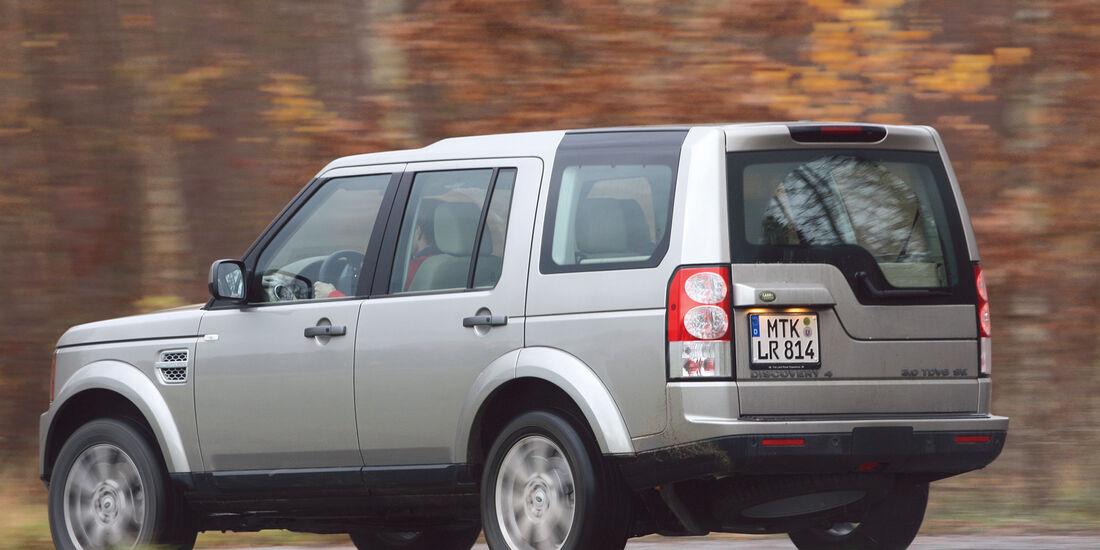 Land Rover Discovery, Seitenansicht