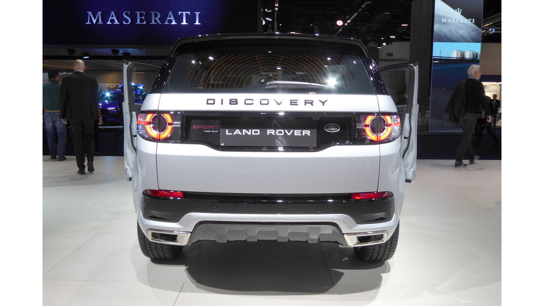 Land Rover Discovery Sport - Auspuff - IAA Frankfurt 2017