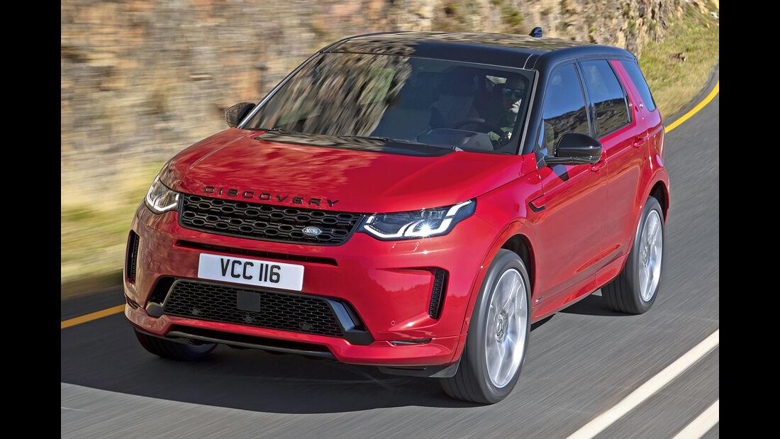 Land Rover Discovery Sport, Best Cars 2020, Kategorie K Große SUV/Geländewagen