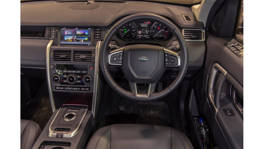 Land Rover Discovery Sport, Cockpit