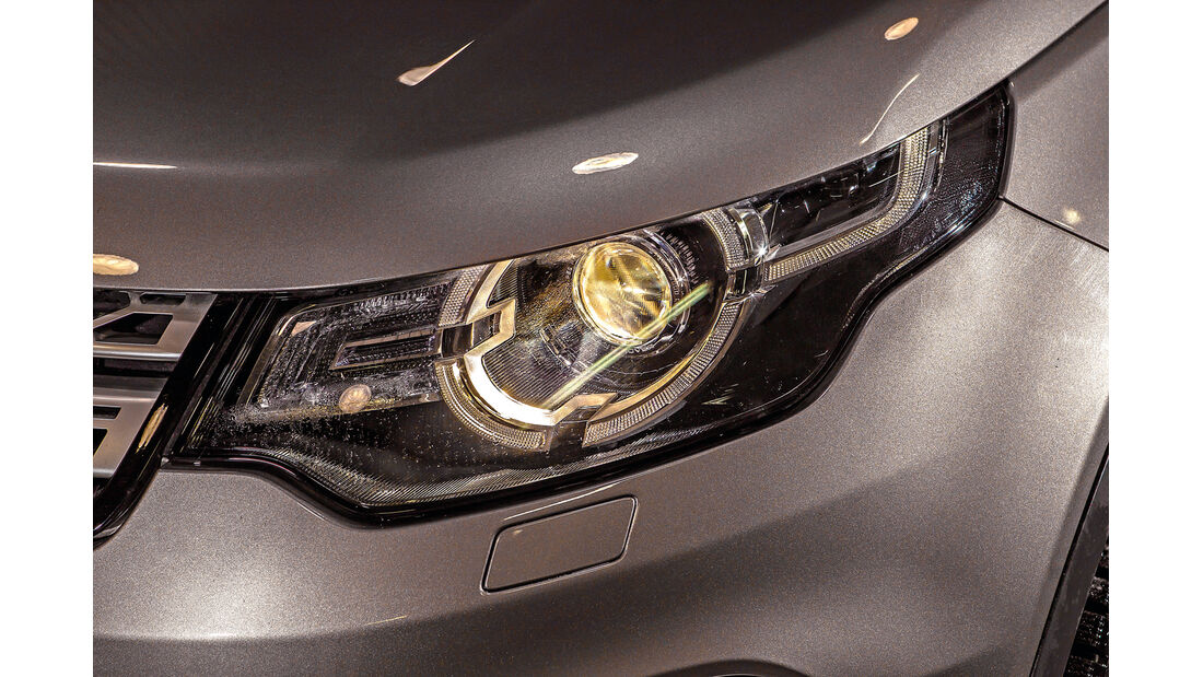 Land Rover Discovery Sport, Frontscheinwerfer