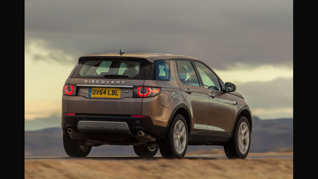 Land Rover Discovery Sport, Heckansicht