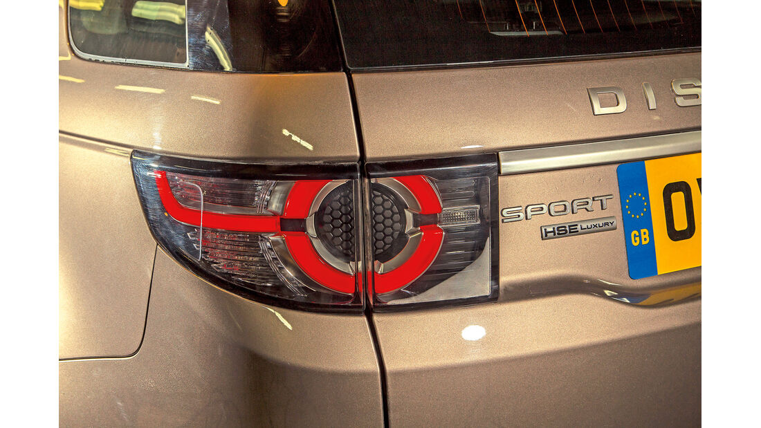 Land Rover Discovery Sport, Heckleuchte