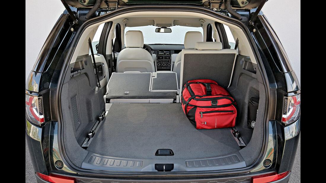 Land Rover Discovery Sport, Interieur, Kofferraum