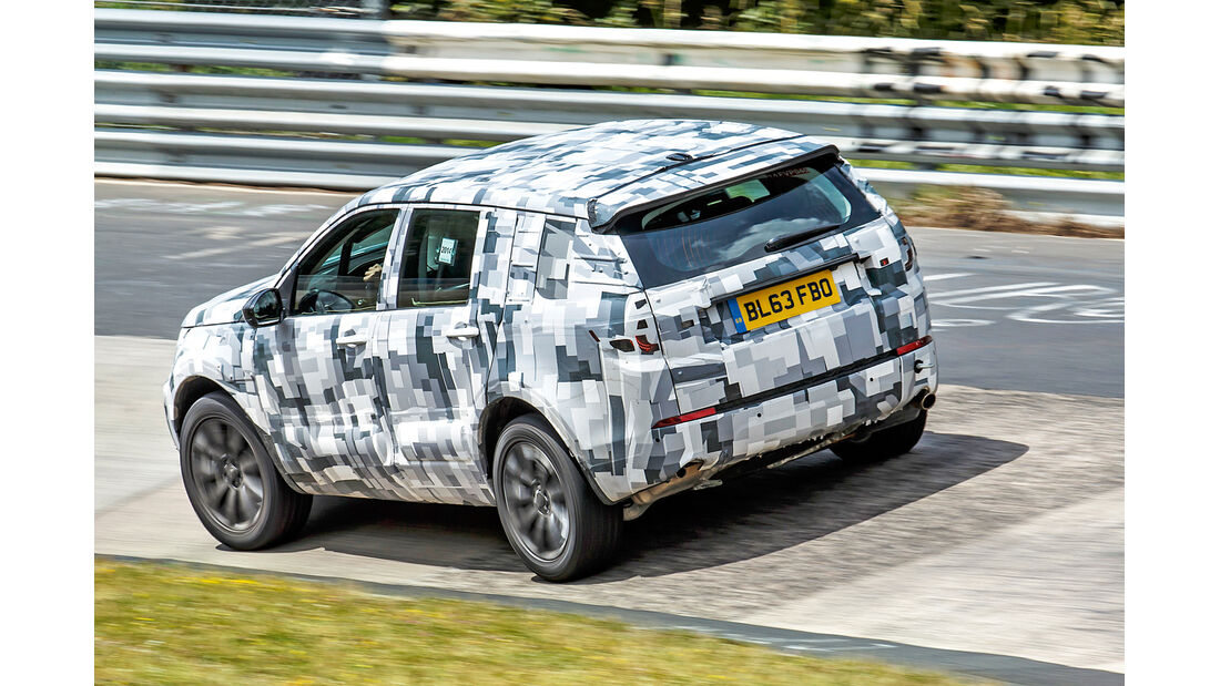Land Rover Discovery Sport, Nürburgring, Nordschleife