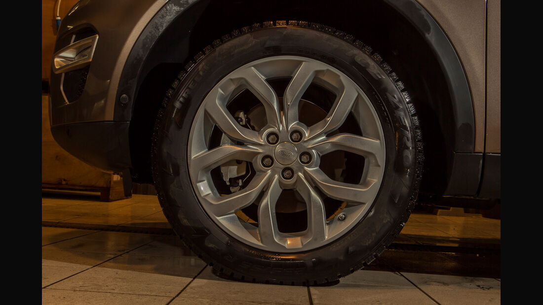 Land Rover Discovery Sport, Rad, Felge