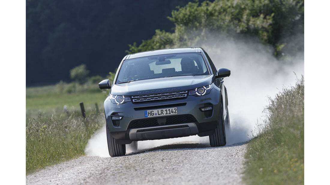 Land Rover Discovery Sport SD4, Exterieur