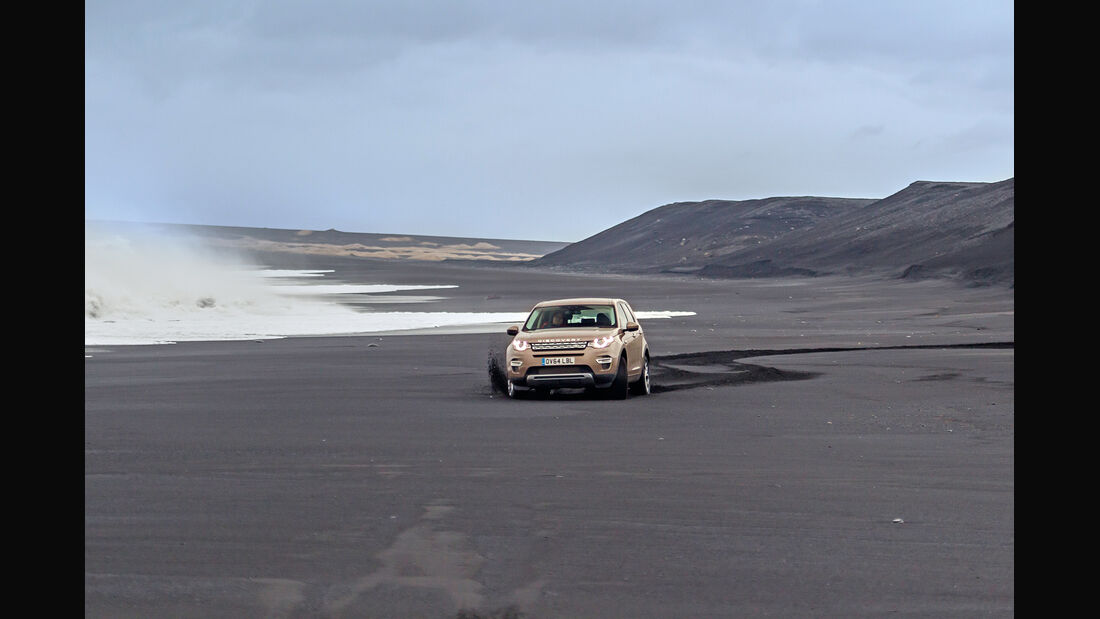 Land Rover Discovery Sport, Strand
