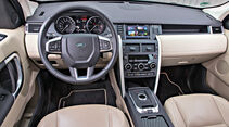 Land Rover Discovery Sport TD4 HSE, Cockpit