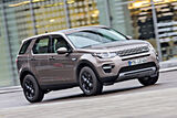 Land Rover Discovery Sport TD4 HSE, Frontansicht