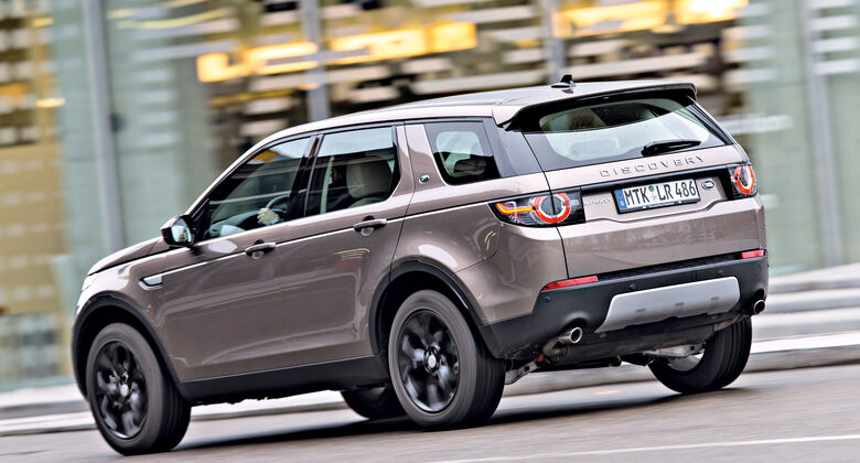 land rover discovery sport tests auto motor und sport. Black Bedroom Furniture Sets. Home Design Ideas