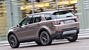 Land Rover Discovery Sport TD4 HSE, Heckansicht