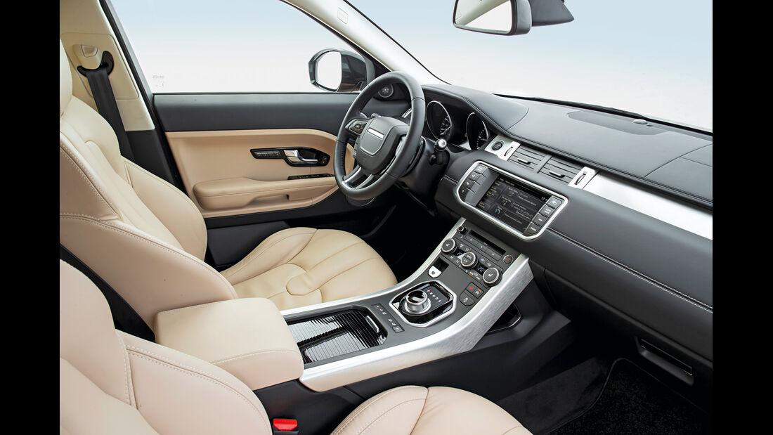 Land Rover Evoque 2,2 SD4, Cockpit