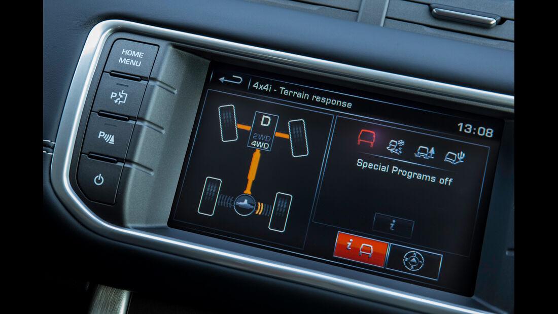 Land Rover Evoque 2,2 SD4, Fahrprogramme