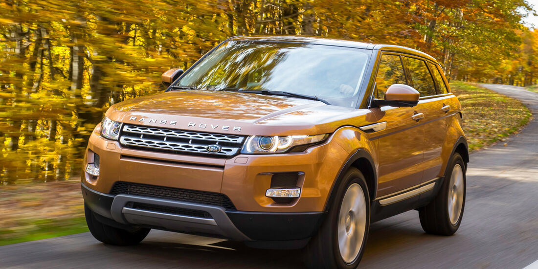 Land Rover Evoque 2,2 SD4, Frontansicht