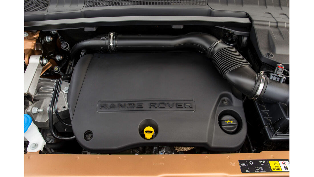 Land Rover Evoque 2,2 SD4, Motor