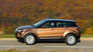 Land Rover Evoque 2,2 SD4, Seitenansicht