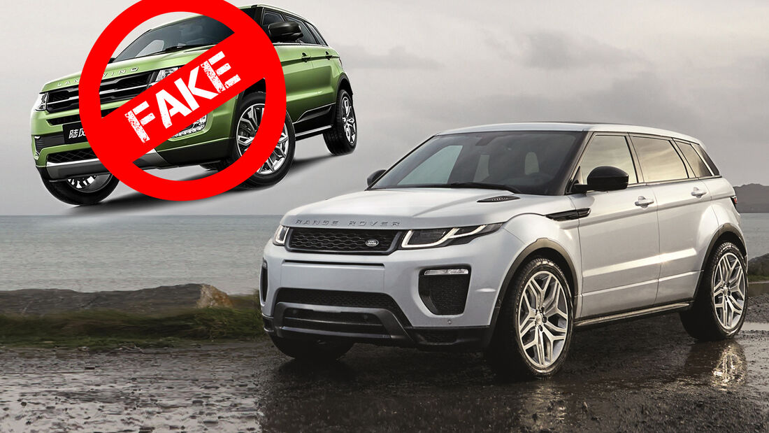 Land Rover Evoque Landwind X7 Urteil Fake