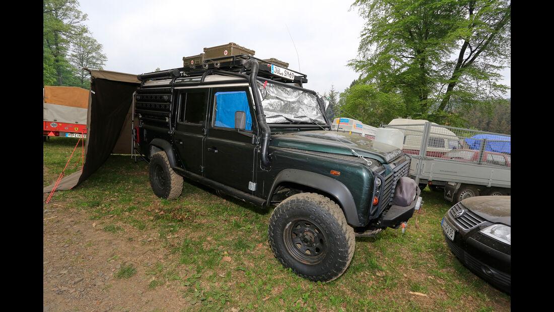 Land Rover - Fan-Autos - 24h-Rennen Nürburgring 2018 - Nordschleife