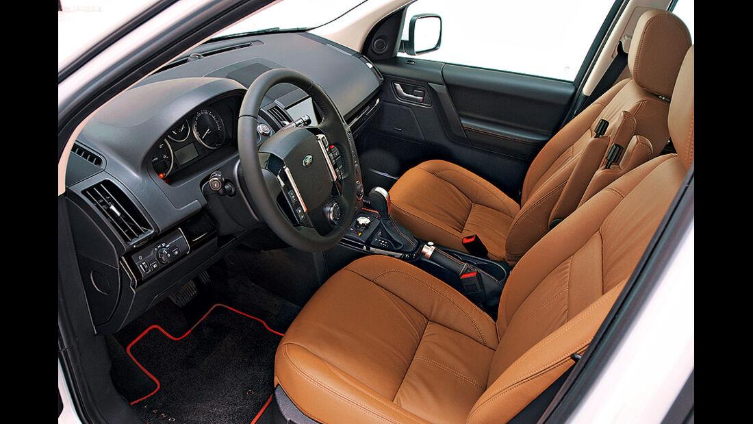 Land Rover Feelander Sondermodell Elegance, Innenraum
